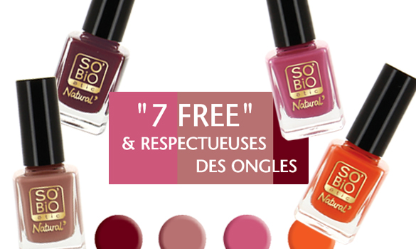 Vernis à ongles SO'BiO étic 7 FREE