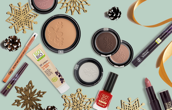 Le make-up de fête par SO'BiO étic