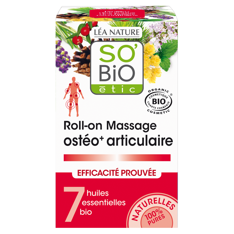 Roll-on massage Ostéo+  Articulaire