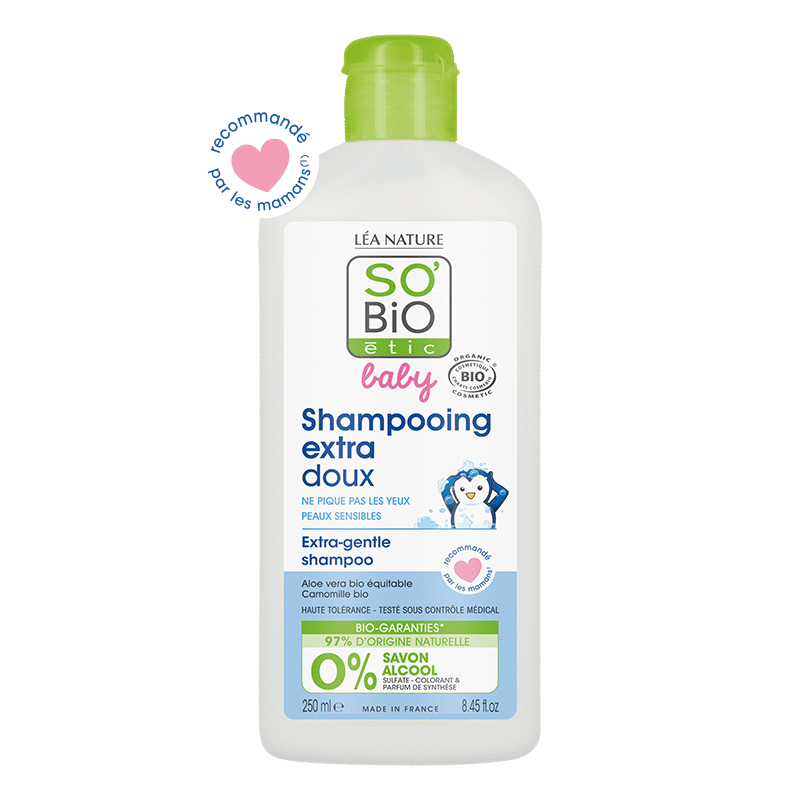 Shampooing  extra-doux – 250ml