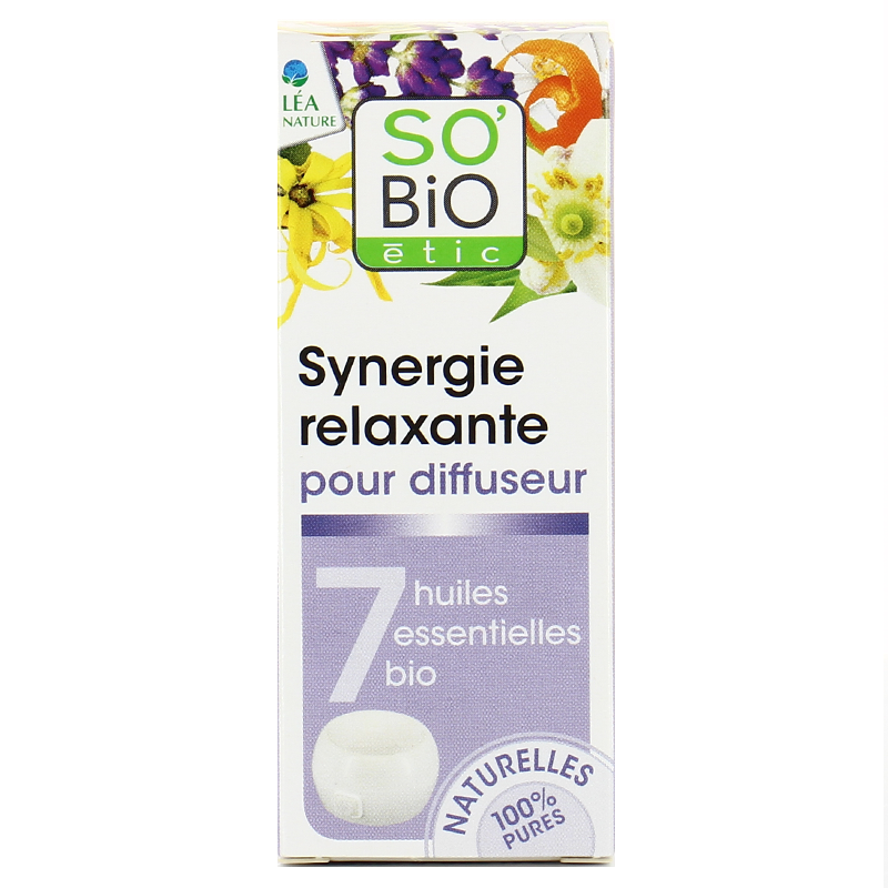 Synergie relaxante d'huiles essentielles